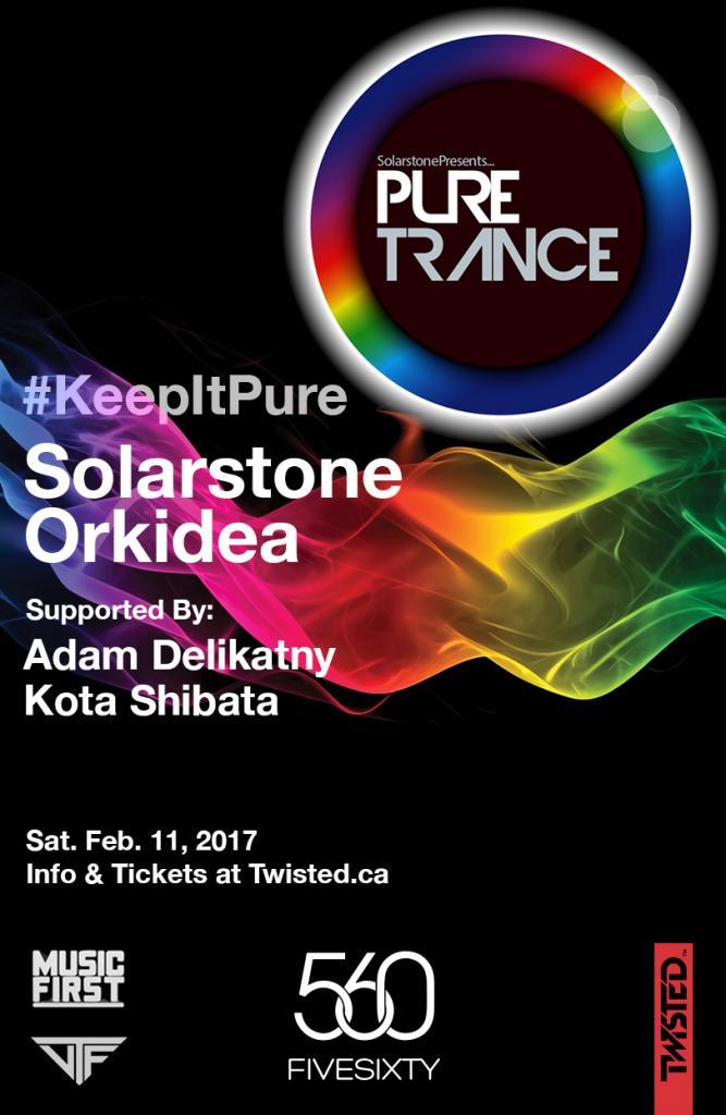 PURE TRANCE w/ Solarstone & Orkidea